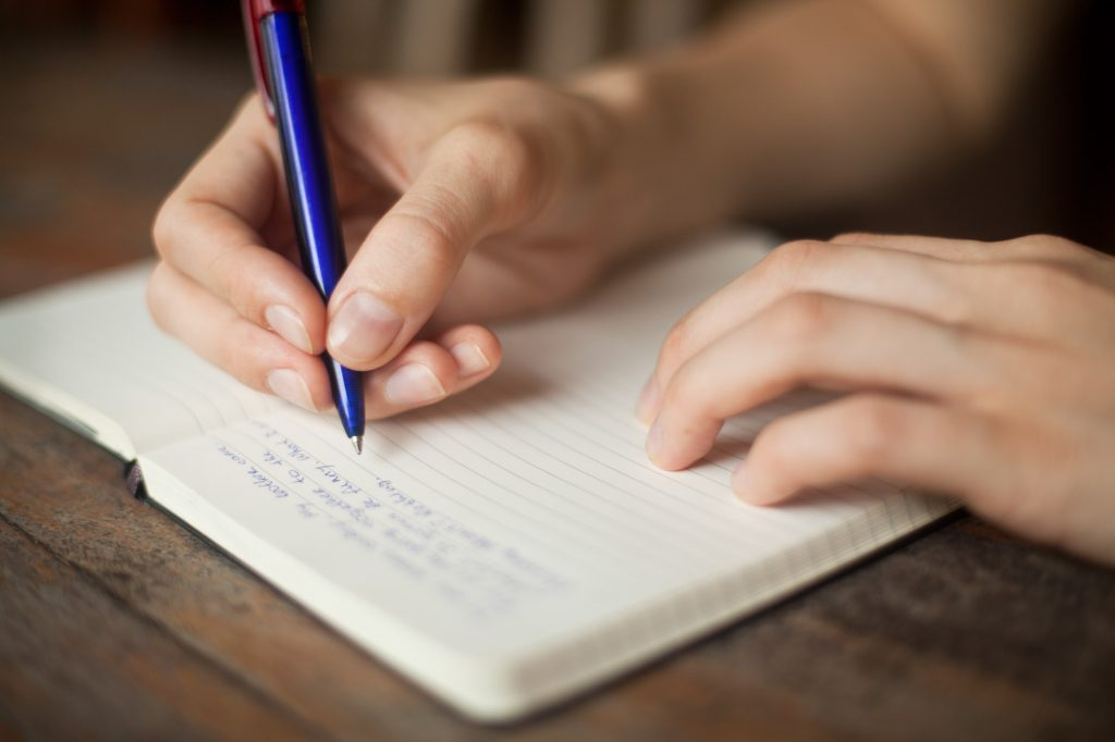self-discovery writing a journal