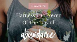 law of abundance